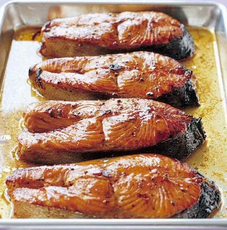 Sweet and Spicy BBQ Salmon