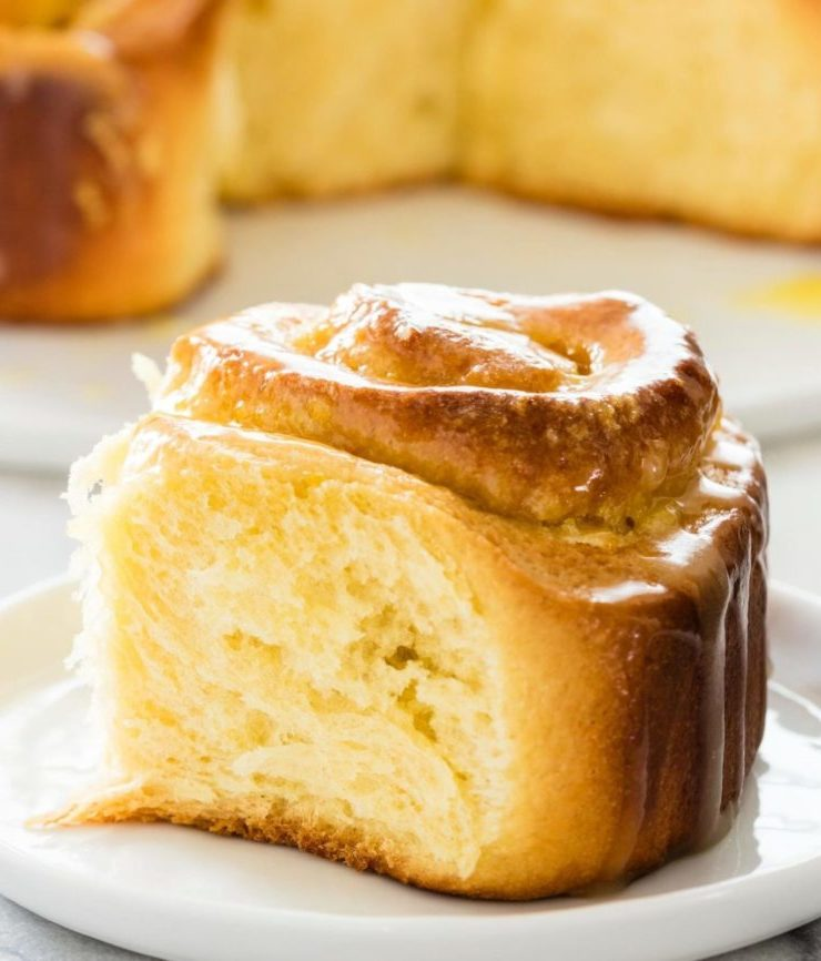 Orange Sweet Rolls that taste like sunshine